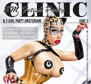 Clinic & T-Girl Party 1 juni 2019 @ Club Akhnaton | Amsterdam | Noord-Holland | Nederland