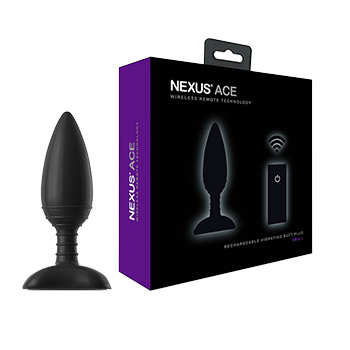 NEXUS ACE VIBRATING BUTT PLUG