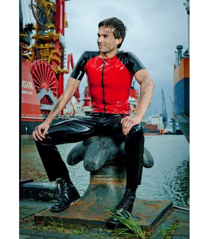 Peter Domenie fuel-108-K zwart met rood