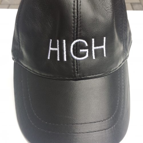 "CAP LEDER ""HIGH"""