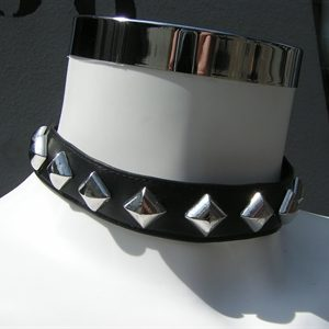halsband, Chooker, studs, datex, Den Bosch
