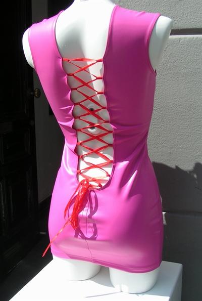 jurk datex met korset veter