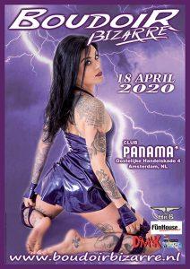 Boudoir Bizarre 18 april 2020 @ Club PANAMA | Amsterdam | Noord-Holland | Nederland